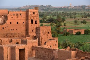 Luxury Jewish Heritage Tour Morocco, 10 days/9 nights. Old village in the Atlas Mountains at sunset